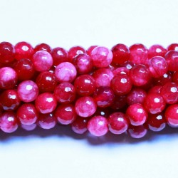 Beads Agate-faceted 8mm (0208012G)