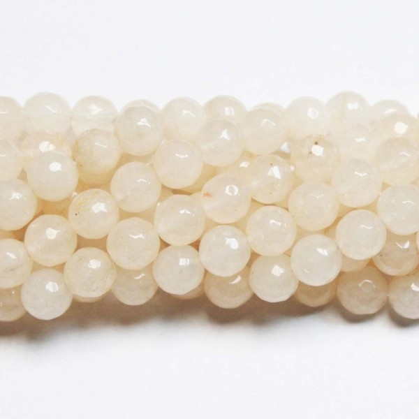 Beads Agate-faceted 8mm (0208013G)