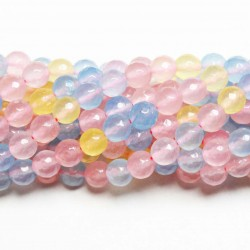 Beads Agate-faceted 8mm (0208017G)