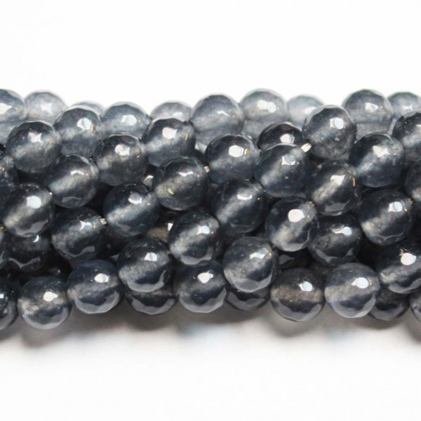 Beads Agate-faceted 8mm (0208024G)
