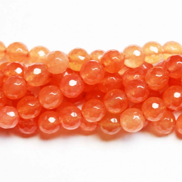 Beads Agate-faceted 8mm (0208029G)