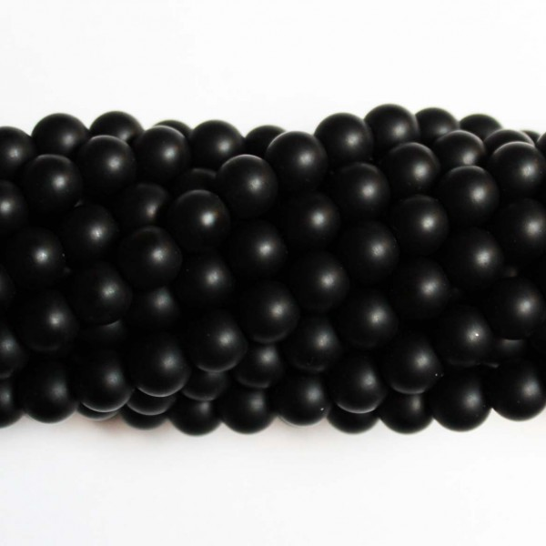 Beads Agate-frosted 8mm (0208000M)