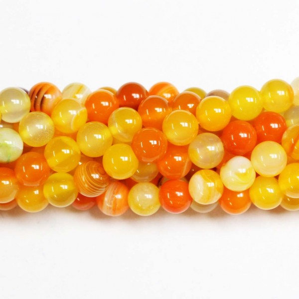 Beads Agate 8mm (0208022)