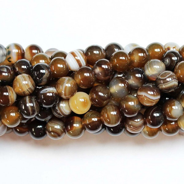Beads Agate 8mm (0208024)