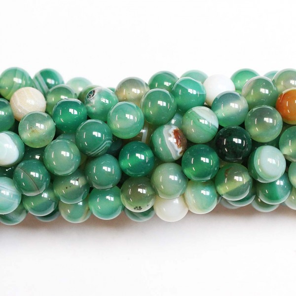 Beads Agate 8mm (0208025)