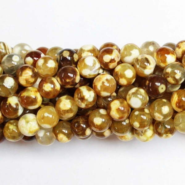 Beads Agate 8mm (0208026)