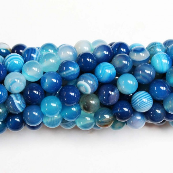 Beads Agate 8mm (0208030)