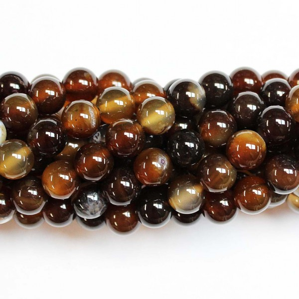 Beads Agate 8mm (0208031)