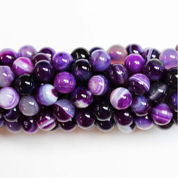Beads Agate 8mm (0208033)