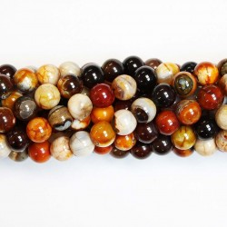 Beads Agate 8mm (0208034)