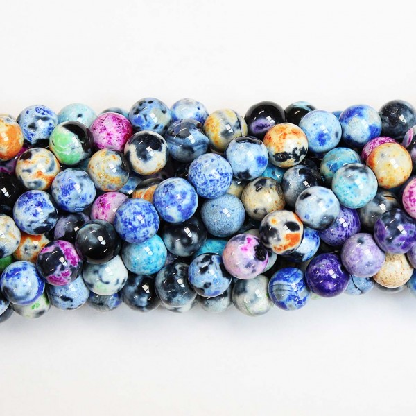 Beads Agate 8mm (0208036)