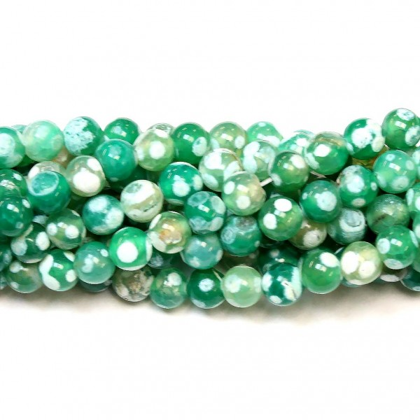 Beads Agate 8mm (0208045)