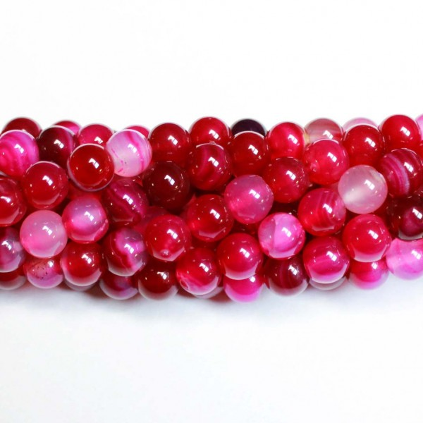 Beads Agate 8mm (0208014)