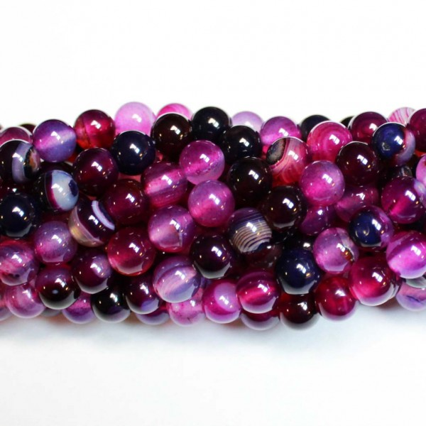 Beads Agate 8mm (0208016)