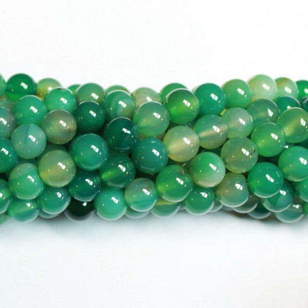 Beads Agate 8mm (0208017)
