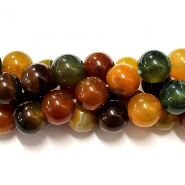 Beads Agate 14mm (0214003)