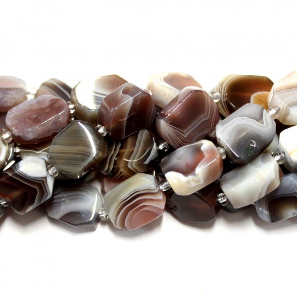Beads Agate 16x12x6mm (0216002)