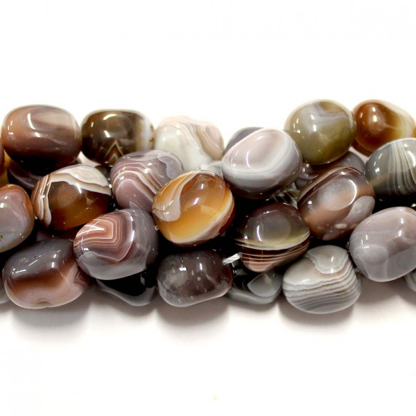 Beads Agate ~16x12mm (0216003)