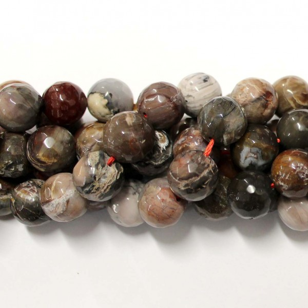 Beads Agate-faceted 14mm (0214007G)