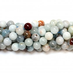 Beads Aquamarine 10mm (0410001)