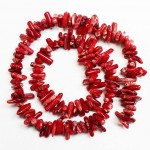 Beads Coral ~12x3mm (1712001)