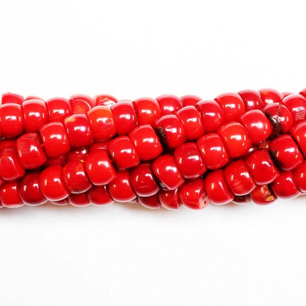 Beads Coral ~9x6mm (1709000)