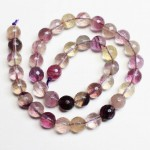 Beads Fluorite-faceted 10mm (4010000G)