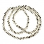 Beads Hematite-faceted 4x2mm (1004010G)