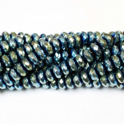 Beads Hematite-faceted 8,5x5mm (1008015G)