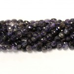 Beads Iolite-faceted 4x3mm (0004003G)