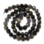 Beads Iolite-faceted 7mm (0007003G)