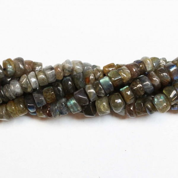 Beads Labradorite ~6x4mm (1906001)