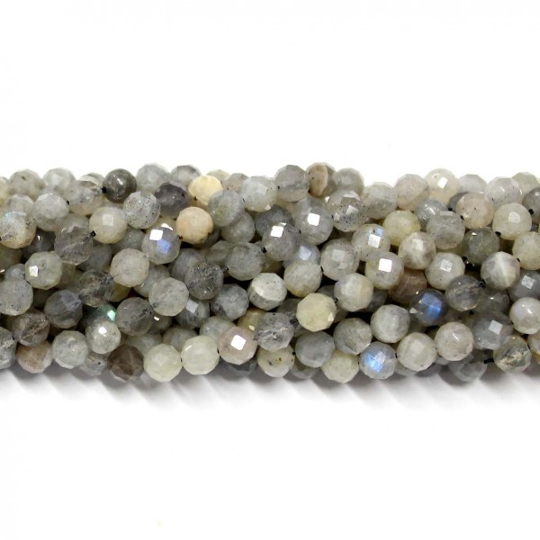 Beads Labradorite-faceted 4,5mm (1904000G)