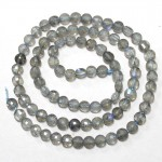 Beads Labradorite-faceted 5x3mm (1905001G)