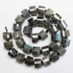 Beads Labradorite-faceted ~12x8mm (1912002G)