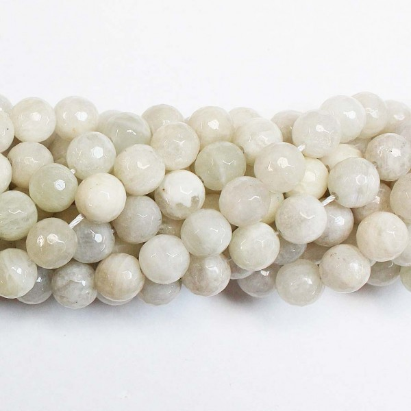 Beads Moonstone-faceted 10mm (2210001G)