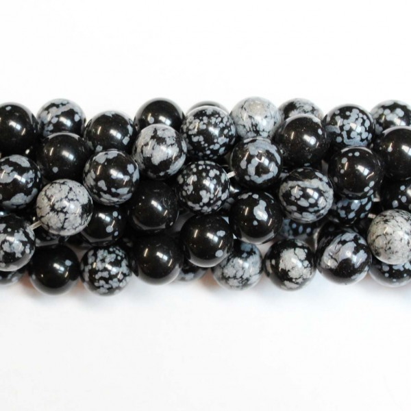 Beads Obsidian 12mm (2612000)