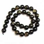 Beads Obsidian 13mm (2613000)