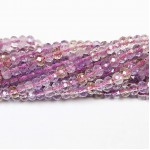 Beads Ametrine-faceted 4x3mm (0004000G)
