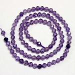 Beads Fianite (cubic zirconia)-faceted 4mm (0004002G)