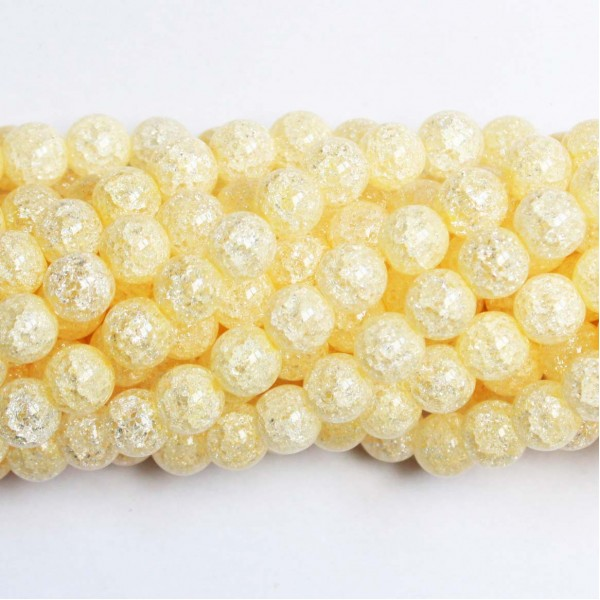 Beads Quartz-crackle 10mm (1610006)