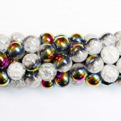 Beads Quartz-crackle 12mm (1612005)
