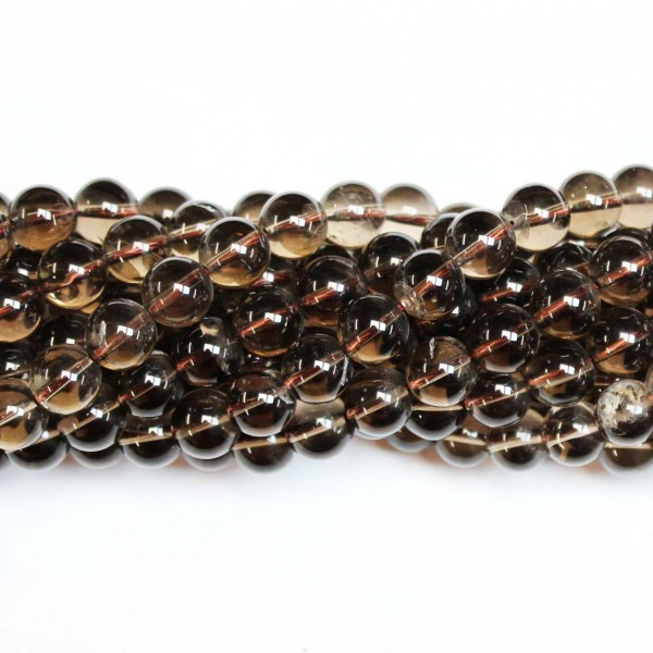 Beads Smoky quartz 10mm (1610030)