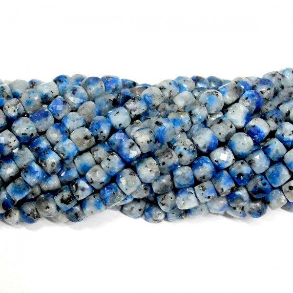 Beads Sodalite-faceted 5x5mm (3405000G)