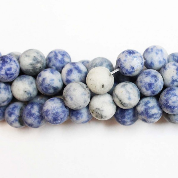 Beads Sodalite-frosted 10,5mm (3410000M)