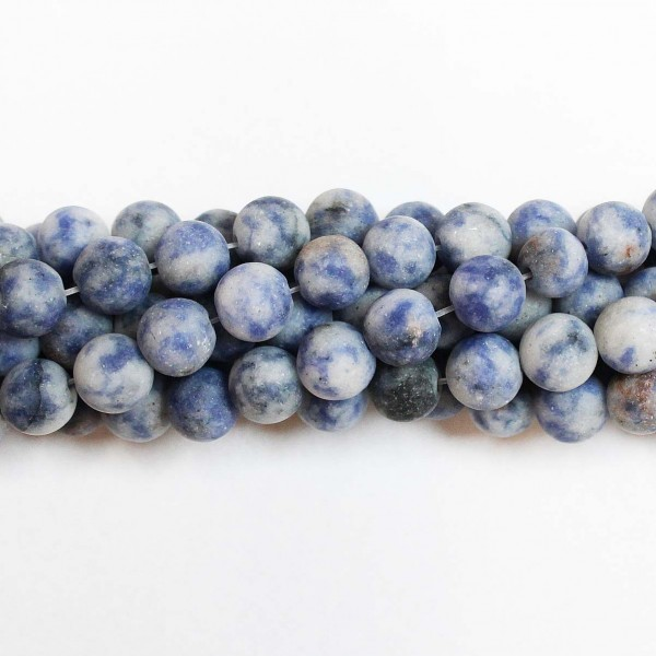 Beads Sodalite-frosted 8mm (3408000M)