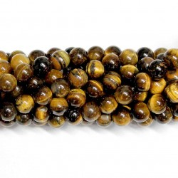 Beads Tiger's eye 8mm (3708000)