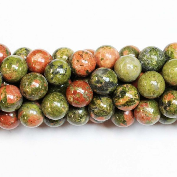 Beads Unakite 10mm (3910000)