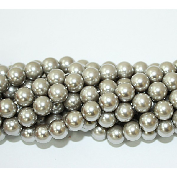 Glass beads (Electroplating) 10mm (4207)