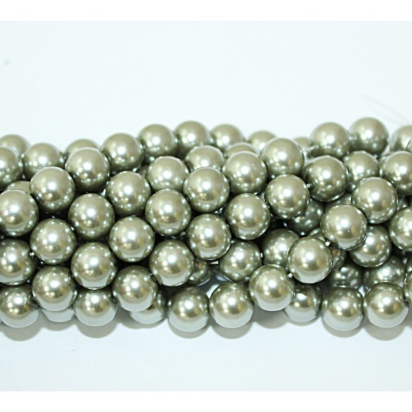 Glass beads (Electroplating) 10mm (4211)